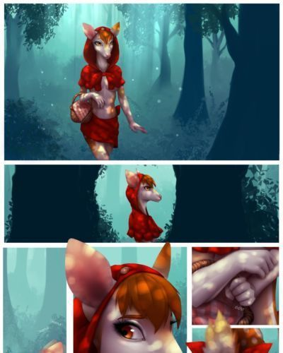 Celeste Little Red Riding Deer WIP