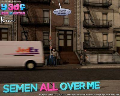 Y3DF- Semen All Over Me