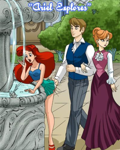 [Palcomix] Ariel Explores (The Little Mermaid)