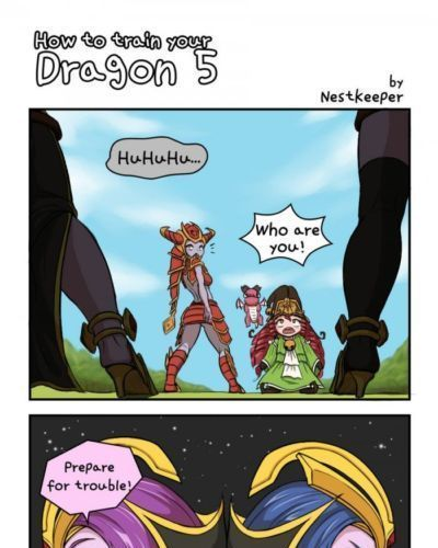 Tales of Valoran - How to Train your dragon - LOL comics (League if Legend) - part 3