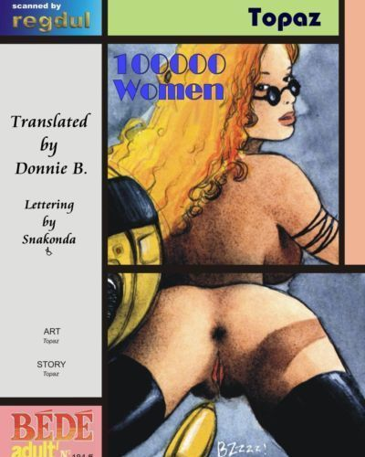 [Topaz] 100000 Women [English] {Donnie B.}