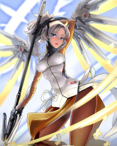 Mercy Therapy (Overwatch) [English] [Rewrite] [h-manga.moe]