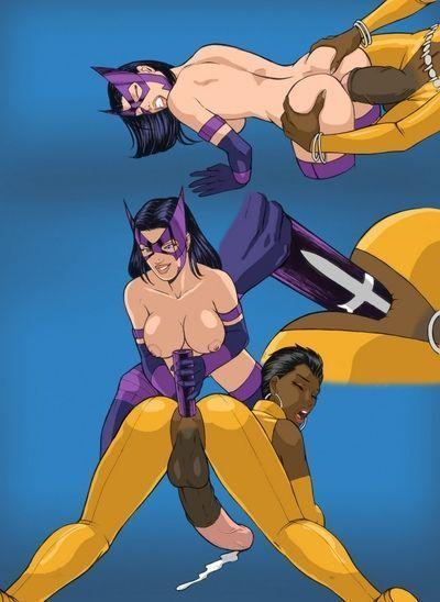 Huntress x Vixen