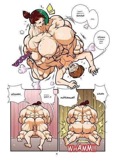 Muskel-Mädchen