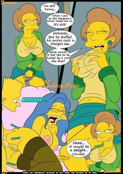 Порно комиксы симпсоны ч 1