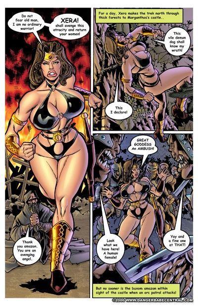 xera อเมซอน เจ้าหญิง - คน ก่อการร้าย ของ morch