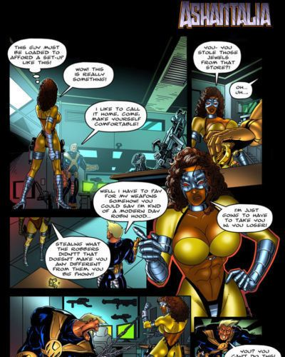 9 Superheroines - The Magazine #9 - part 2