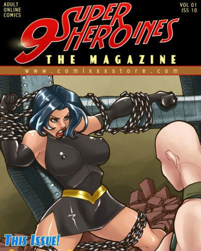 9 Superheroines - The Magazine #11
