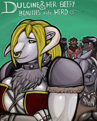 [Shia] Dulcene & Her Beefy Beauties Ride Herd