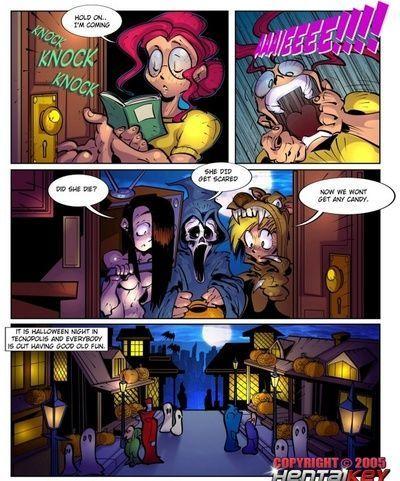 Lilly heroína 6 - feliz halloween