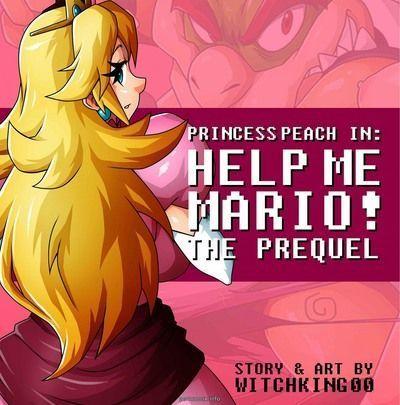 Принцесса Персик Помогите мне Марио