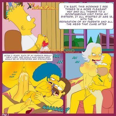 порно комиксы симпсоны новые