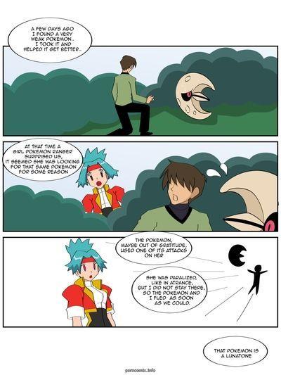 Покемон летать мне в Луна