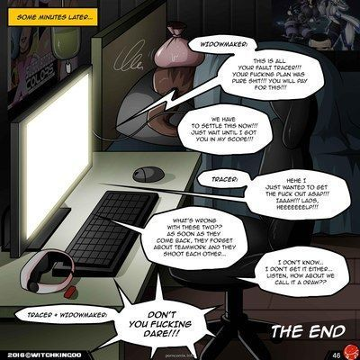 VR The Comic Overwatch- Witchking00 - part 3