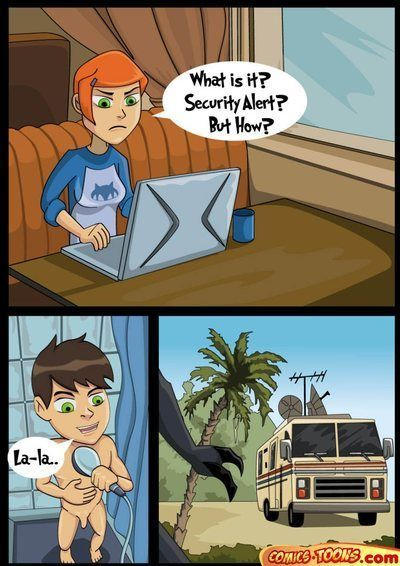 Ben 10 - Security Alert