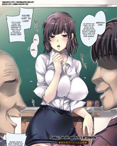 Kobayashi Youkoh OnnaKyoushi Marikou no Gogo - Female Teacher Marikou\\\