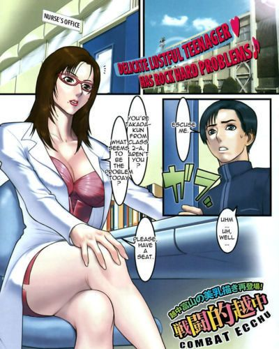Combat Ecchu Shocking Ryouhou - Gimme Gimme Shock Treatment! (COMIC Kairakuten BEAST 2006-07) Tadanohito