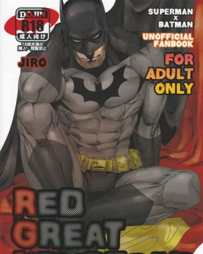 (C83) Gesuidou Megane (Jiro) RED GREAT KRYPTON! (Batman, Superman)