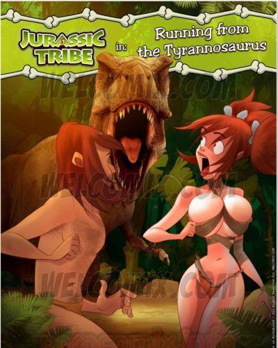 welcomix 侏罗纪 部落 4- 运行 霸王龙的