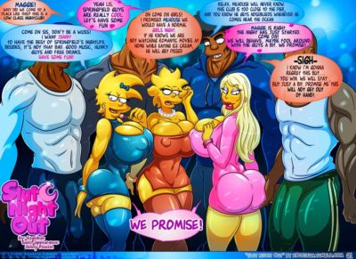 Slut Night Out ? Simpsons