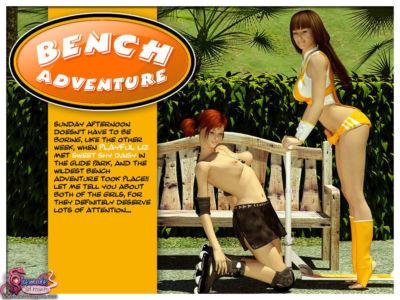 Bench Adventure – Shemale 3D Futanari