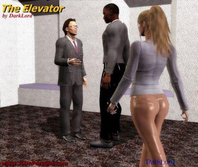 Darklord- Elevator Fuck
