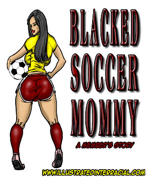illustratedinterracial बेहोश फुटबॉल माँ
