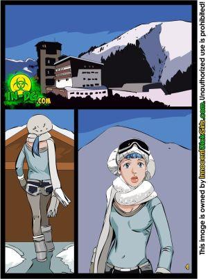 的 免费的 滑雪 通