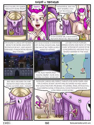 Fairies vs Tentacles Ch. 1-3 - part 9