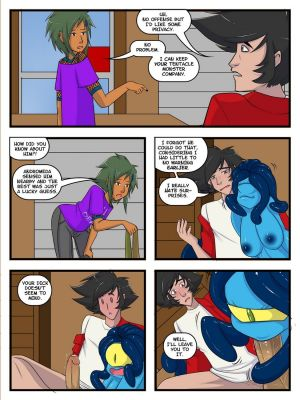 A Date With A Tentacle Monster 10 - part 2