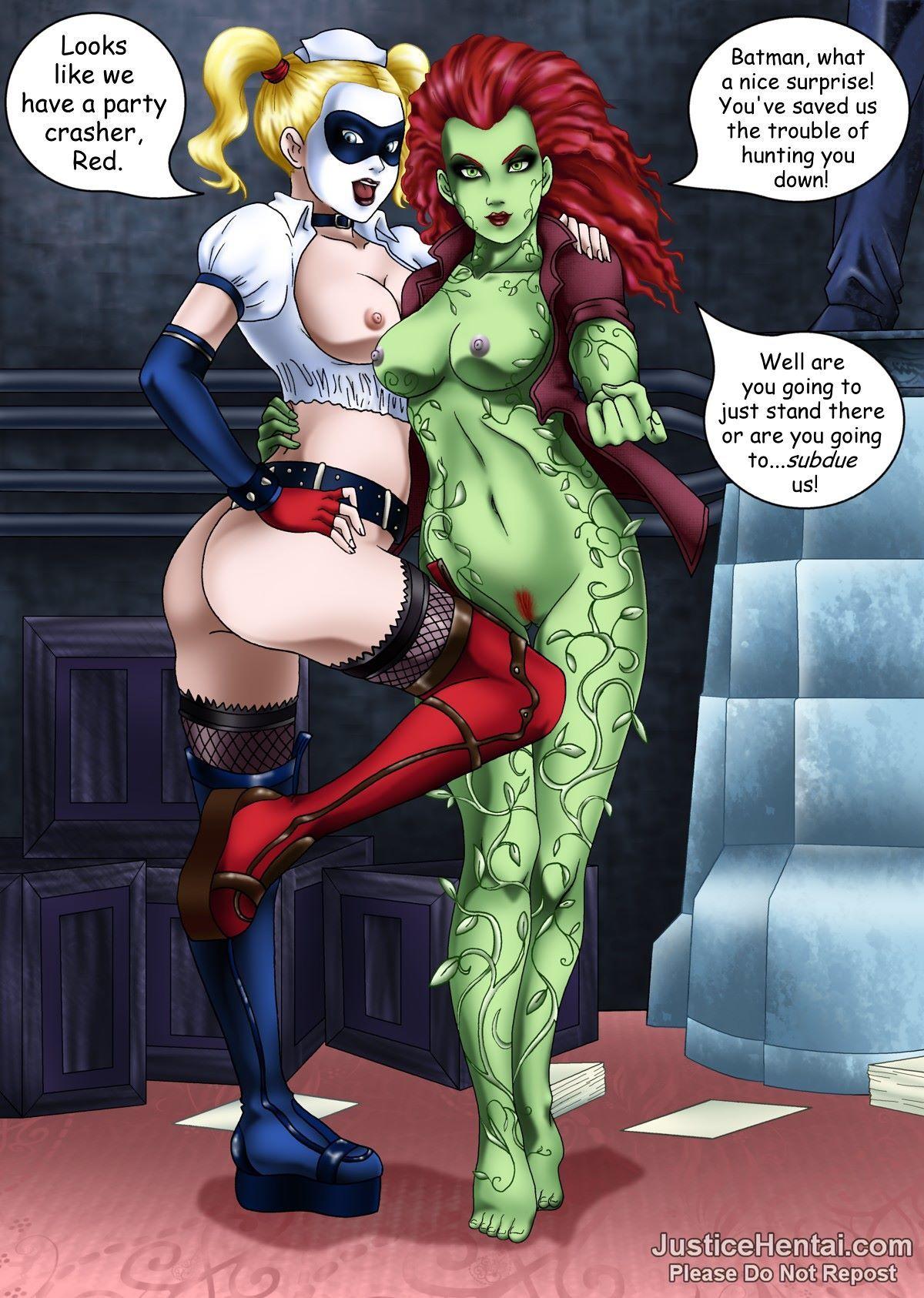 Arkham asylum hentai comic