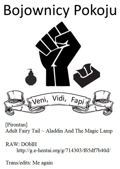 [Pirontan] Otona no Douwa ~Aladin to Mahou no Lamp - Adult Fairy Tale ~ Aladdin And The Magic Lamp  [Bojownicy Pokoju]..