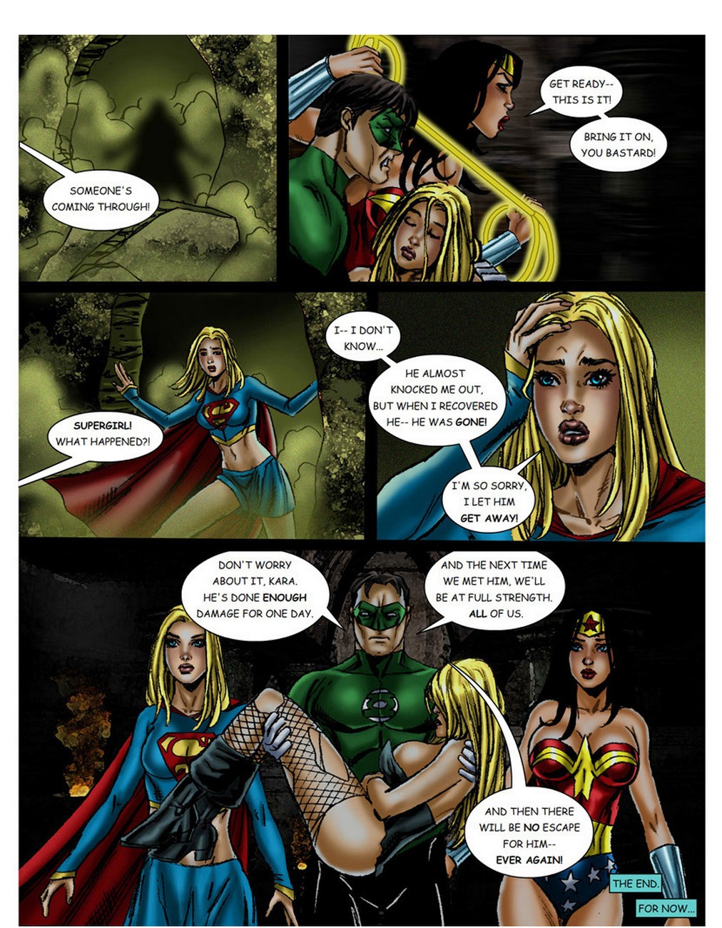 JLA - The Return Of The Warlord - part 2