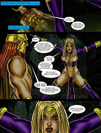 9 супергероинь против военачальник 2