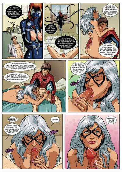 Spider-Man Sexual Symbiosis 1 - part 2