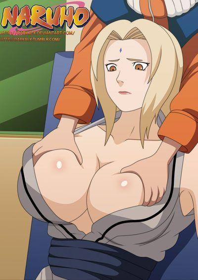 (C73) [Naruho-dou (Naruhodo)] Kyonyuu no Ninja Chichikage (Naruto)  [doujin-moe.us] [Colorized] [Decensored]