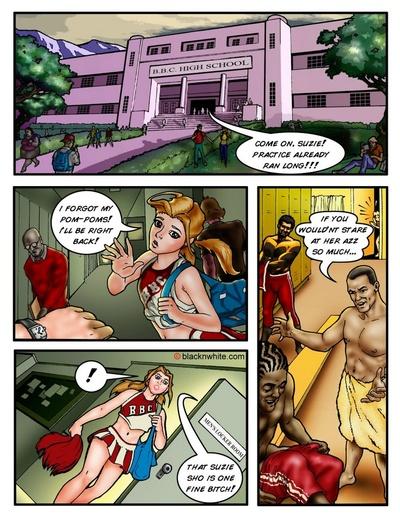 комиксы межрасовые