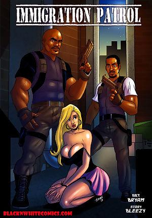 BlacknWhite- Immigration Patrol