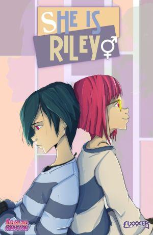 teasecomix 彼女 は riley