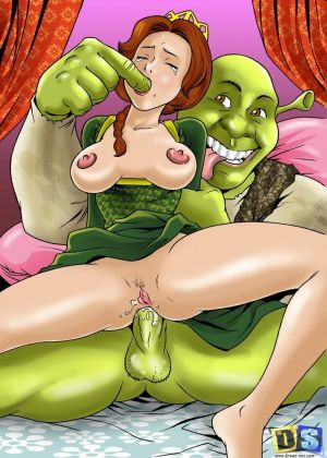 Drawn Sex- Shrek's Dreamland