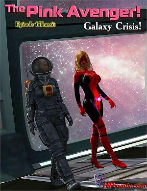 hipcomix के गुलाबी बदला लेने वाला आकाशगंगा संकट