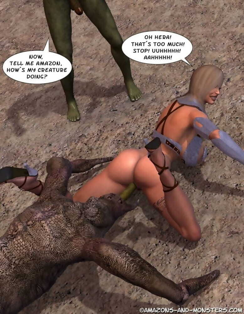 Amazons and Monsters- Total War 2