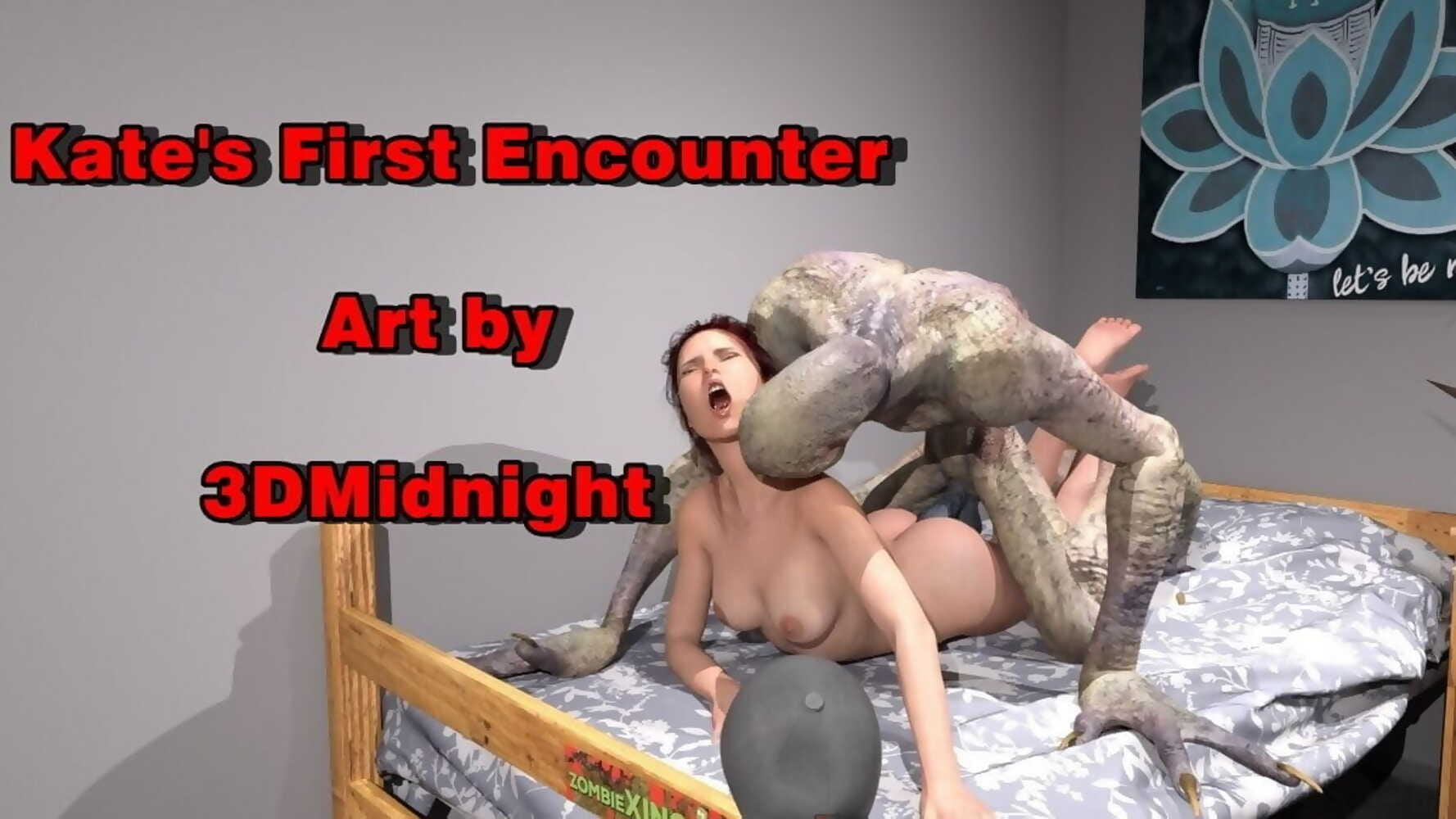 3DMidnight- Kate's First Encounter