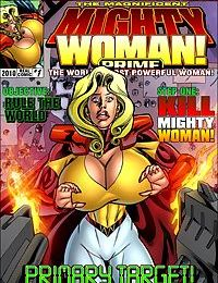 SuperHeroineCentral- Mighty Woman Prime in Primary Target