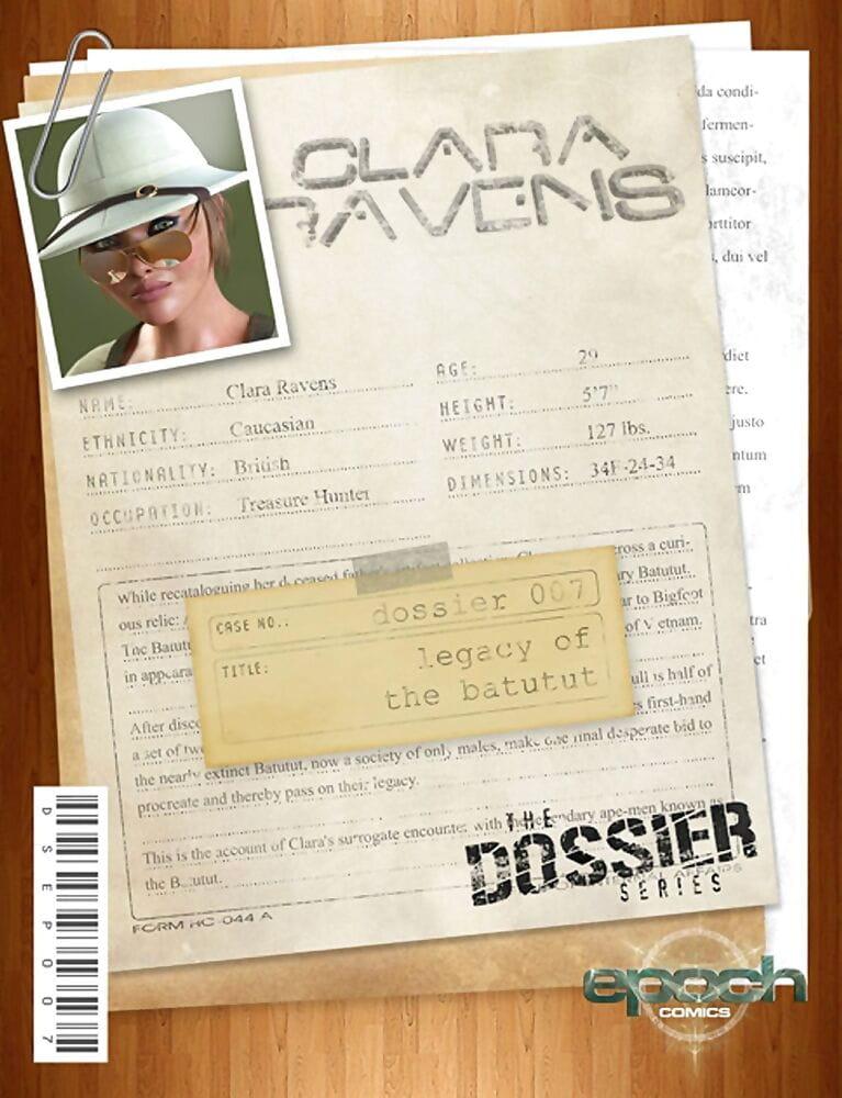The Dossier 07- Clara Ravens- Epoch