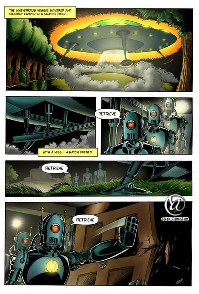 Alien Secuestro 1 - inesperado los visitantes