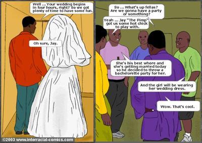 Her Wedding Day- Interracial