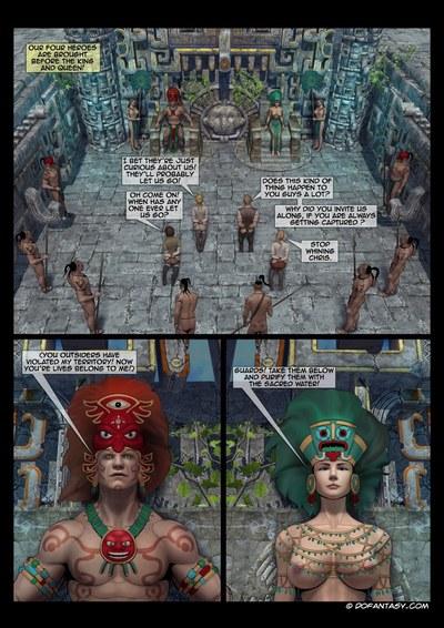 перо - Майя приключения - часть 2