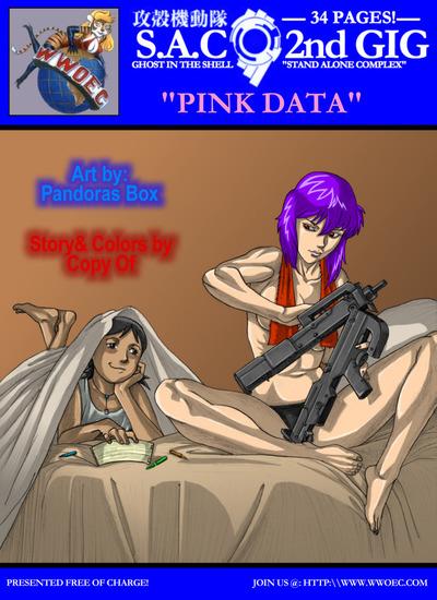 pbx ghost in die shellpink Daten