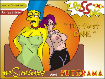 Simpson and Futurama- The First One